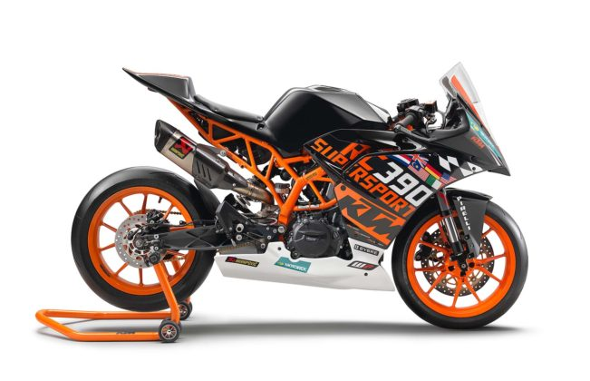 KTM RC 390 R race kit