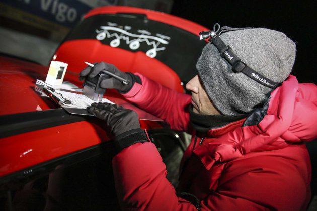 Audi RS4 2018 20Quattro Ore delle Alpi timbro controllo orario