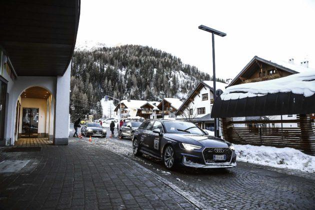 Audi RS4 2018 20Quattro Ore delle Alpi corvara