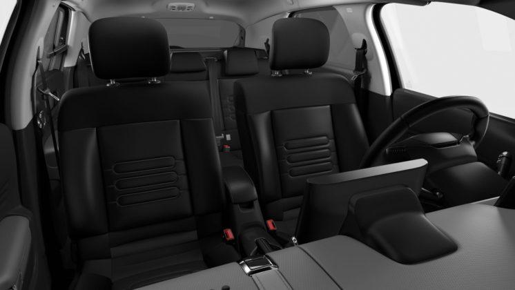 Citroen C4 Cactus 2018 dettaglio sedili anteriori