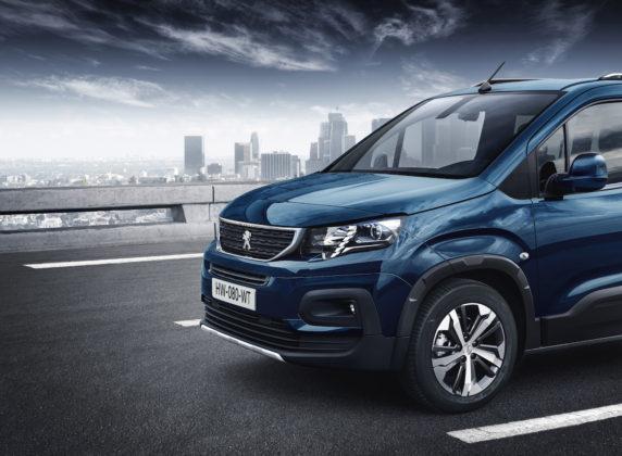 Peugeot Rifter dettaglio avantreno