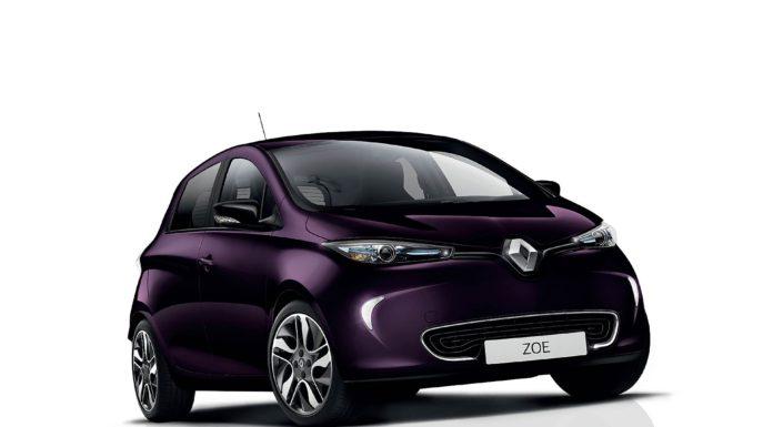 Renault ZOE viola