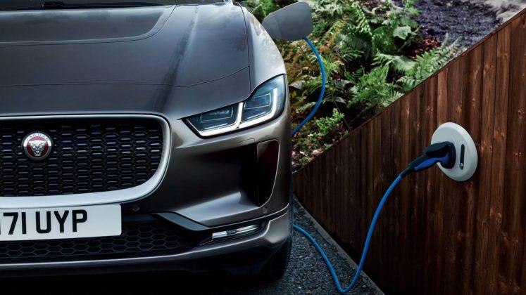 Jaguar i Pace dettaglio ricarica