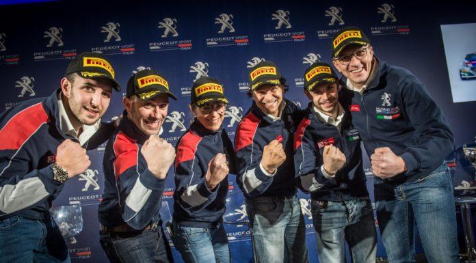 Peugeot campionato italiano rally 2018