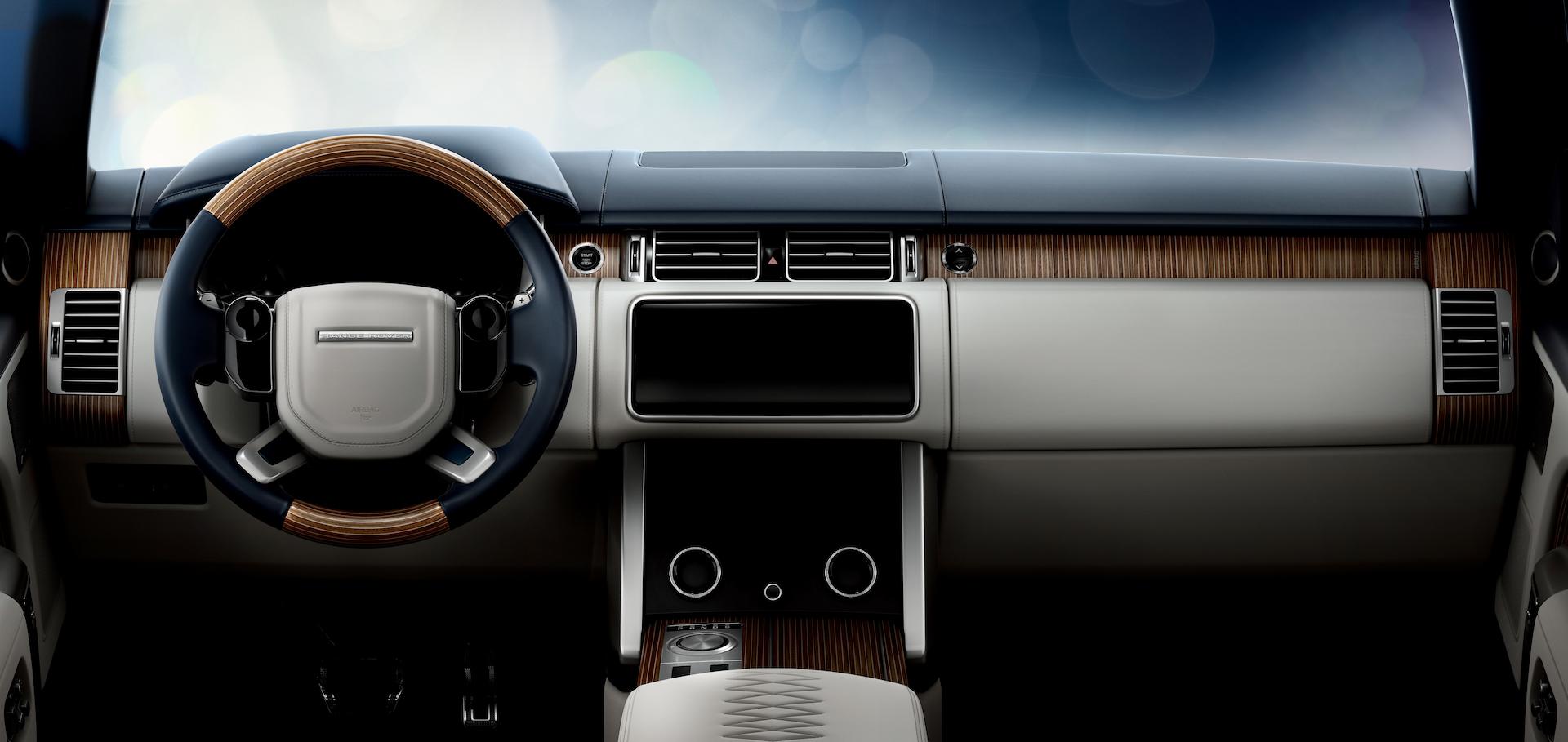 range rover sv coupé plancia interni