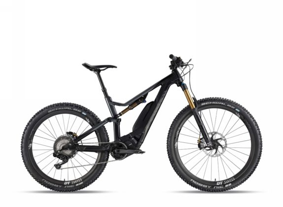Canyon Spectral:ON 9.0 colore stealth vista laterale destra statica
