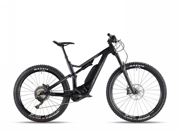 Canyon Spectral:ON 7.0 colore stealth vista laterale destra statica
