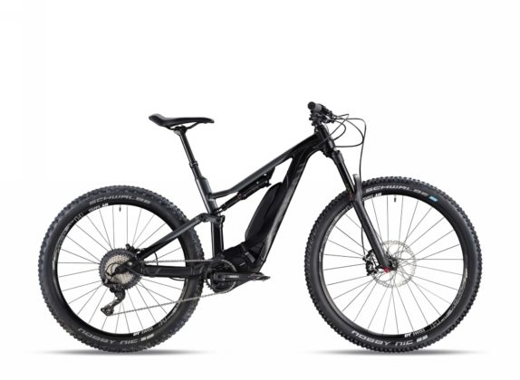 Canyon Spectral:ON WMN 6.0 colore stealth vista laterale destra statica