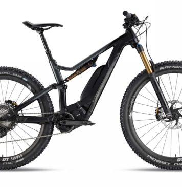 Canyon Spectral on 2018 laterale nera statica