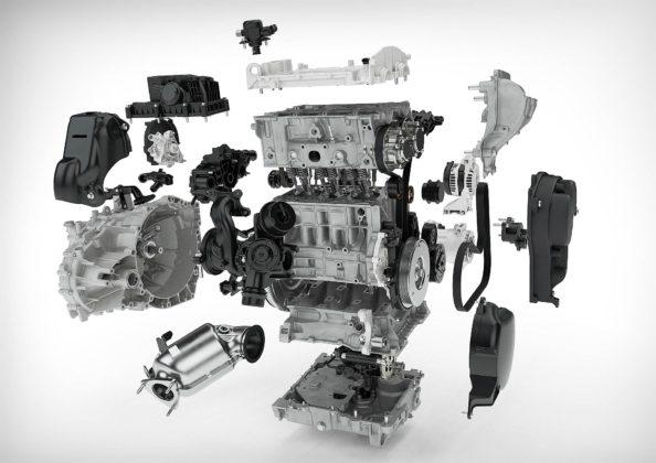 1.5 3 cilindri Volvo esploso