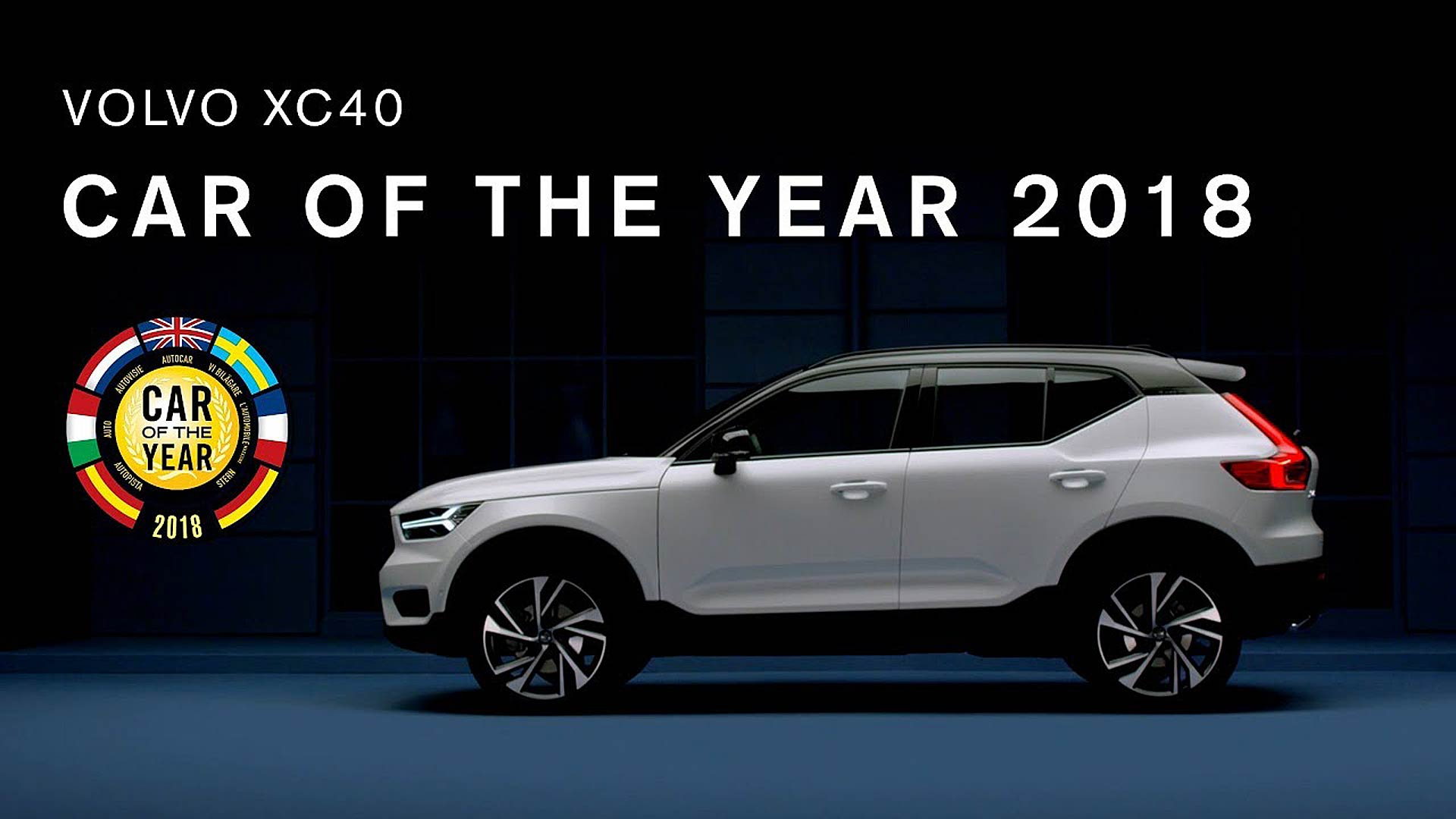 Volvo XC40 vincitrice dell'edizione 2018 del Car of The Year