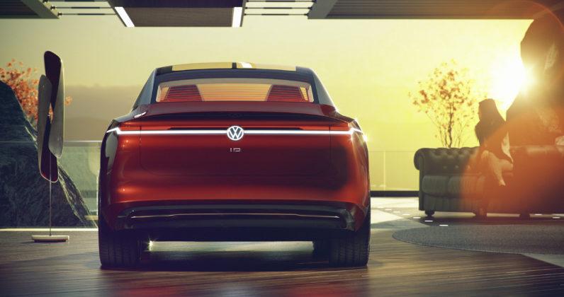 Volkswagen ID Vizzion posteriore statica