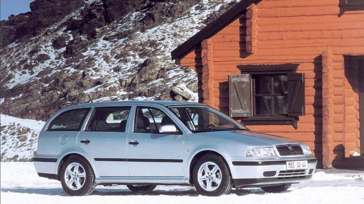 Škoda Octavia Scout 4X4 sulla neve