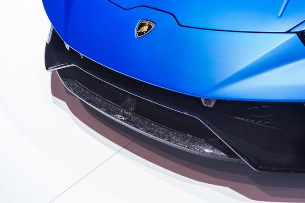 Lamborghini Huracan Performante Spyder dettaglio paraurti anteriore