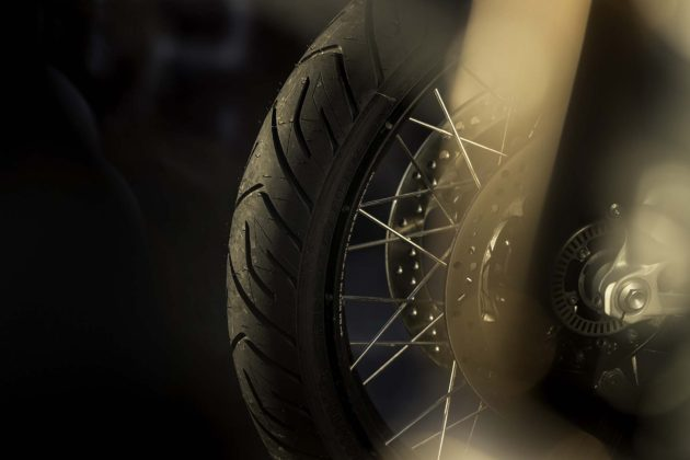 Bridgestone Battlax Adventure A41 dettaglio gomma