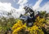 BMW F 850 GS 2018 laterale in movimento enduro in montgna
