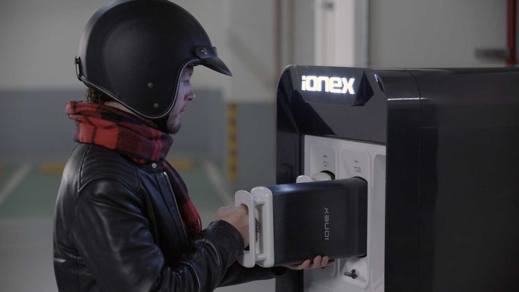 Kymco iONEX batteria