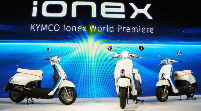 Kymco iONEX esposizione