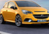 Nuova Opel Corsa GSi 3/4 laterale anteriore destra statica