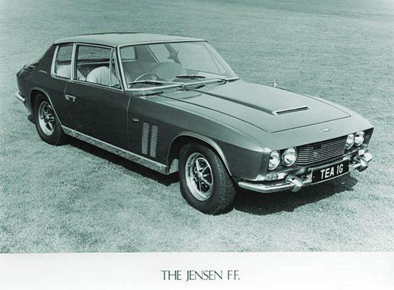 ensen FF, la sofisticassima sportiva che già nel 1965 era dotata di trazione integrale, sistema anti-pattinamento ed ABS