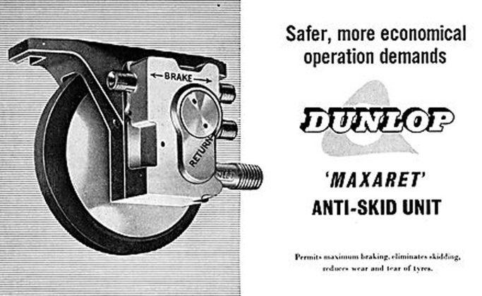 Sistema ABS Dunlop Maxaret