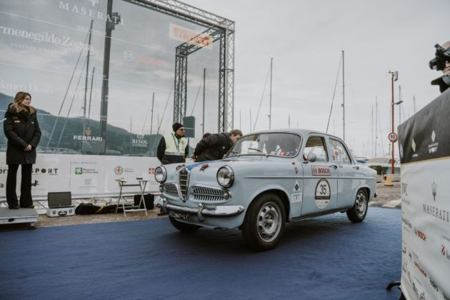 Alfa Romeo Giulietta 1300 TI Milano-Sanremo