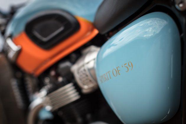 Triumph Spirit of 59 dettaglio