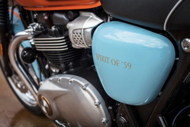 Triumph Spirit of 59 dettaglio motore