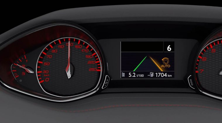 Il sistema di mantenimento di corsia su Peugeot: avviso su cruscotto