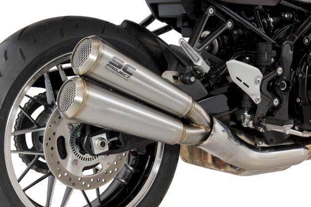 SC Project per Kawasaki Z900RS dettaglio scarico