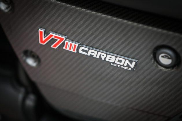 Guzzi V7III Carbon dettaglio modello