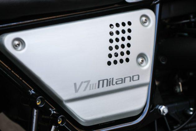 Guzzi V7III Milano dettaglio modello