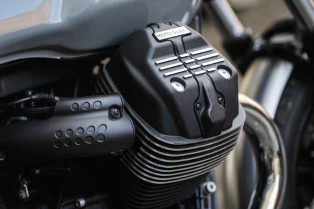 Guzzi V7III Milano dettaglio motore