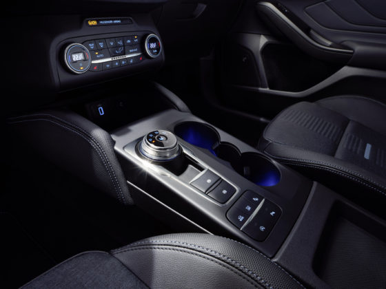 Nuova Ford Focus dettaglio interni