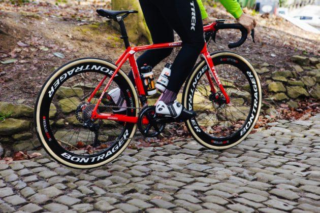 Shimano Ultegra RX su bici in movimento