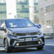 Picanto Xline frontale in città in movimento