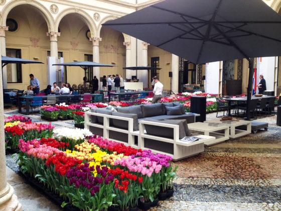 giardino creato per esposizione