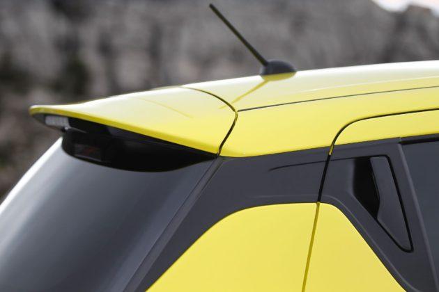Suzuki Swift Sport 2018 dettaglio tettuccio