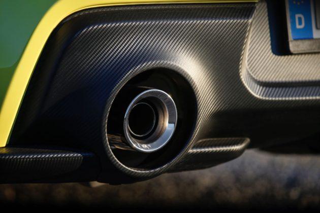 Suzuki Swift Sport 2018 dettaglio scarico