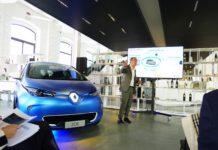 Renault Zoe in concessionario