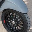 Vespa dettaglio ruota anteriore