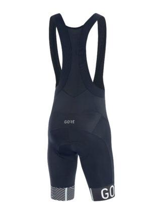 GORE® C5 Optiline Bib Shorts+ blu scuro posteriore
