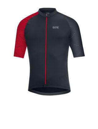 GORE® C5 Optiline Jersey nera e rossa