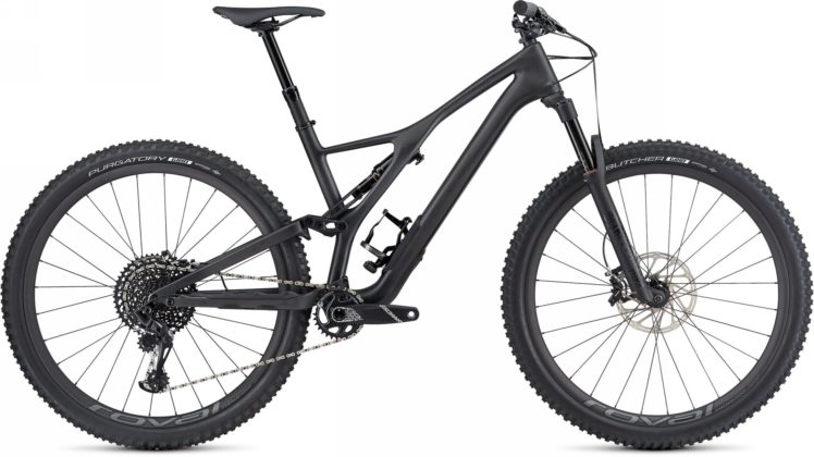 Specialized Stumpjumper 2018 nera laterale statica