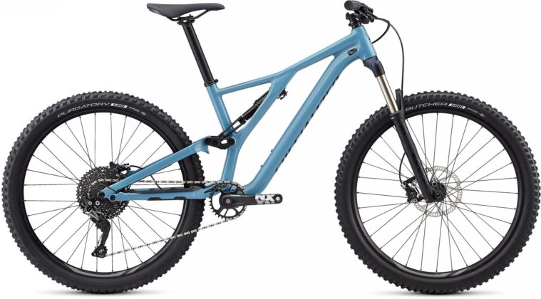 Specialized Stumpjumper 2018 azzurra laterale statica