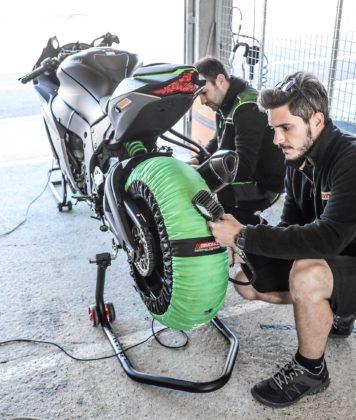 Pirelli termocoperte pressione gomme
