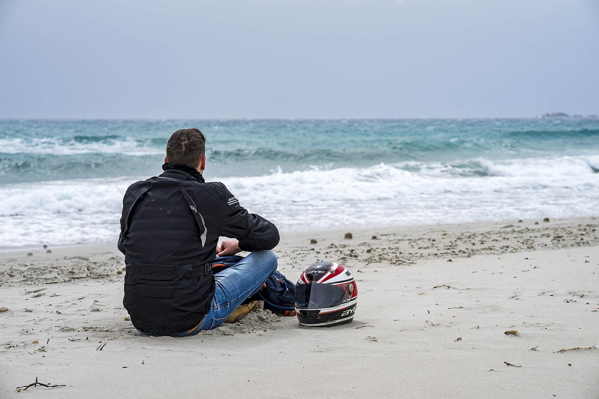 Il mare nella sua vastità non può non esser ammirato