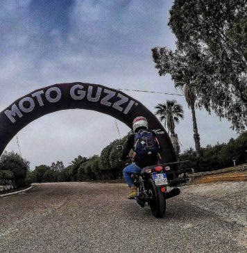 Moto Guzzi experience 2018 posteriore