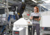 Bosch donna al lavoro