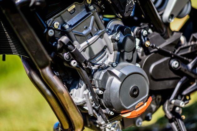 KTM 790 Duke dettaglio motore